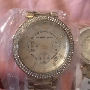 2️⃣ Brand new MK gold Parker watches